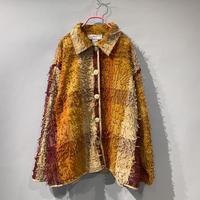 fluffy design jacket