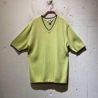 00s s/s rib knit tee
