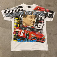"00s~ CHASE ""NASCAR"" printed T-shirt"
