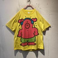 90s pig illustration T-shirt
