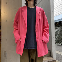 90s rayon blend easy tailored jacket (PNK)