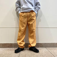 90s checked slacks pants