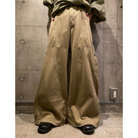 Extra wide design pants