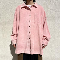 """L.L.Bean"" oversized corduroy shirt"