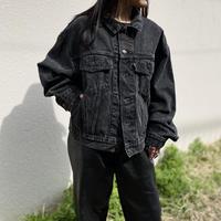 "90s ""Levi's 70598"" trucker jacket (BLK)"