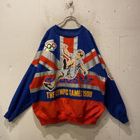 80s adidas Olympic motif sweat shirt