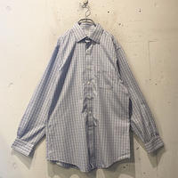 """Brooks Brothers"" checked dress shirt"