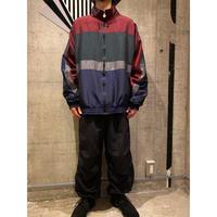 90s multicolor shiny nylon jacket