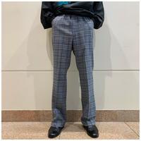 70s wool plaid tapered slacks