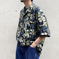 00s s/s shiny design shirt