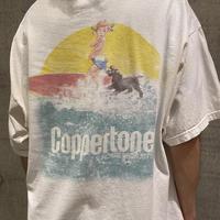 "00s~""Coppertone"" printed T-shirt"