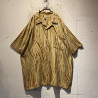 oversized all pattern S/S shirt