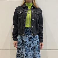"90s ""GUESS"" mini turcker jacket"