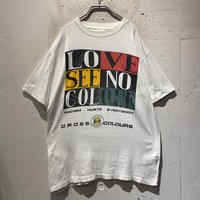 """90s """"CROSS COLOURS"""" printed T-shirt"""
