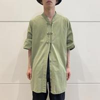 old China motif s/s shirt