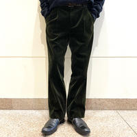 90s〜2tucks corduroy slacks pants