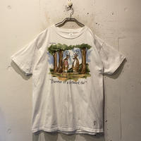 "80s ""THE FAR SIDE"" printed T-shirt"