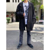 90s oversized denim tailored jacket