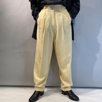 80s〜2tucks slacks pants