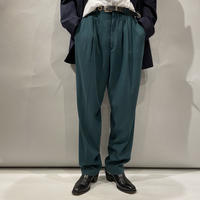 80s〜rayon tuck slacks pants