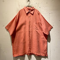 """LANDS'END"" s/s linen shirt"
