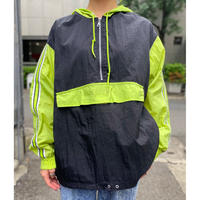 bi-color design nylon jacket