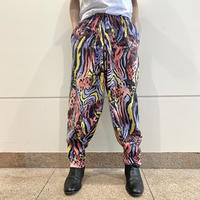 "80s ""GOLDS GYM"" all patterned sweat pants"