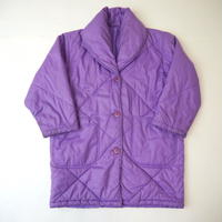 Shawl collar padding jacket