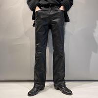 animal pattern coating design pants