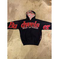"""90s """"Budweiser"""" hoodie sweat shirt"""