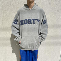 "90s〜""Shorty's"" printed sweat hoodie"
