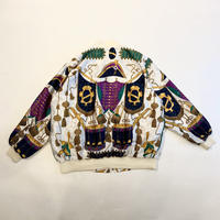 90s all patterned blouson