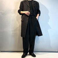 old striped long tailored jacket