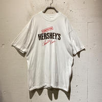 """80s """"HERSHEY'S"""" printed tee"""