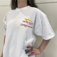 """00s~ """"IN·N·OUT BURGER"""" T-shirt"""