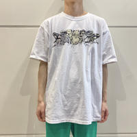 old frogs printed T-shirt