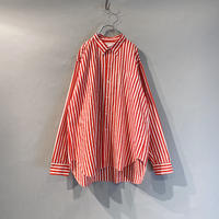 "80s ""Reminiscence"" L/S striped shirt"