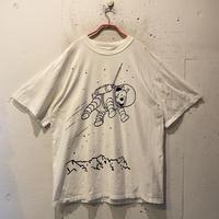 """90s """"TINTIN"""" print T-shirt"""