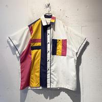 crazy pattern S/S shirt