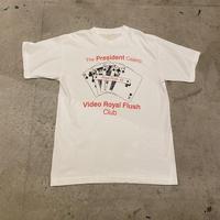 90s~ unique print T-shirt