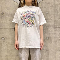 old reptiles printed T-shirt