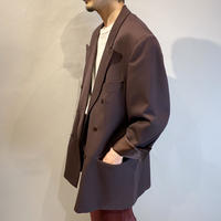 80s〜90s double breasted tailored jacket