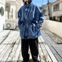 4XL oversized design denim jacket