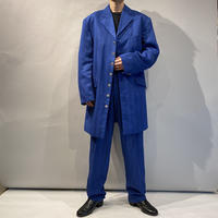 90s striped set up suits