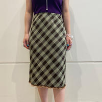 old fringe design skirt