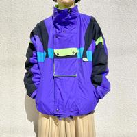 90s design  nylon puffer jacket