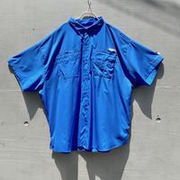 """""""Columbia"""" PFG S/S shirt(BLU)"""