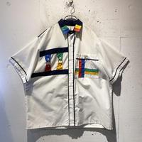 unique design S/S shirt