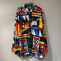 90s〜 Wrangler all pattern shirt