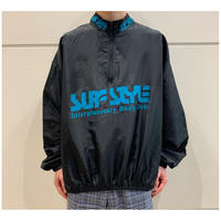"80s ""SURF STYLE"" nylon blend pullover"